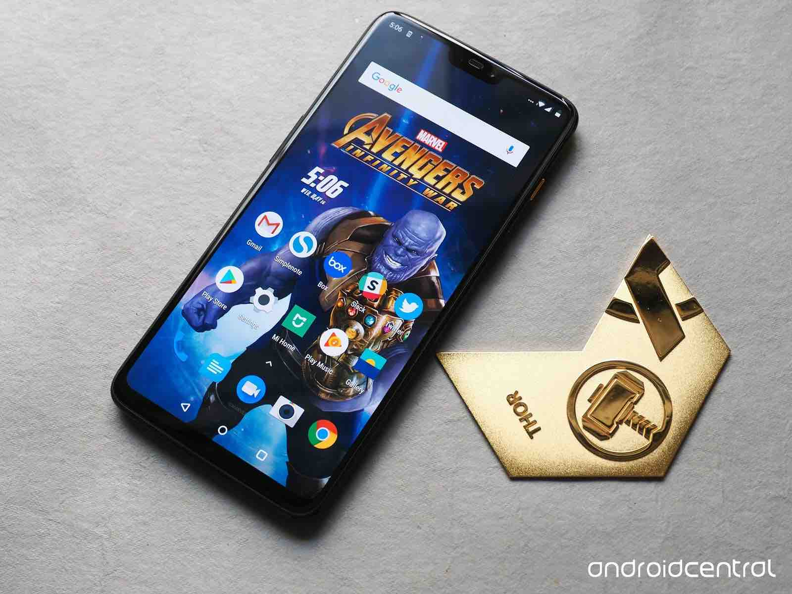 OnePlus 6 Avengers Limited Edition