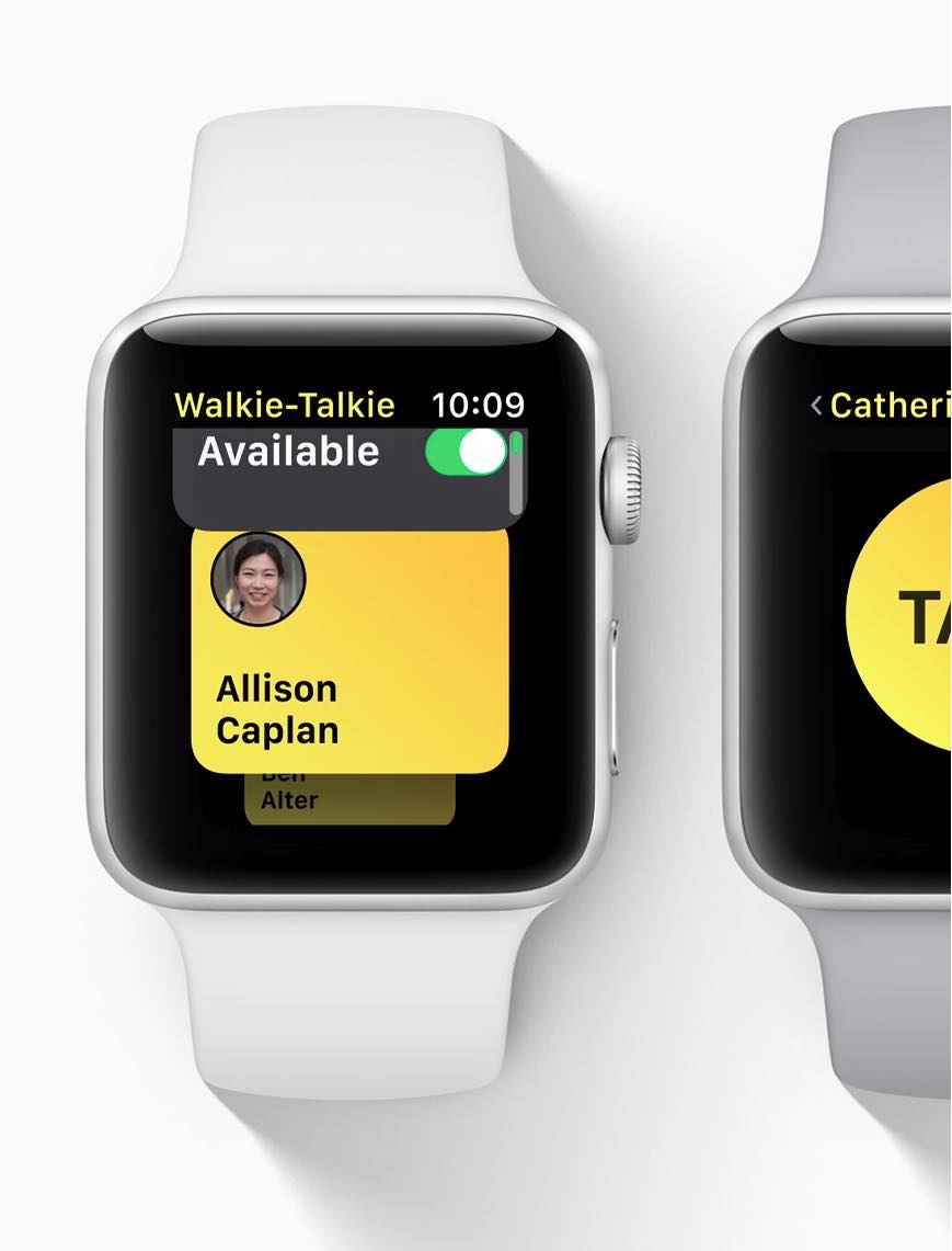 Apple Watch - watchOS 5 - Walkie-Talkie