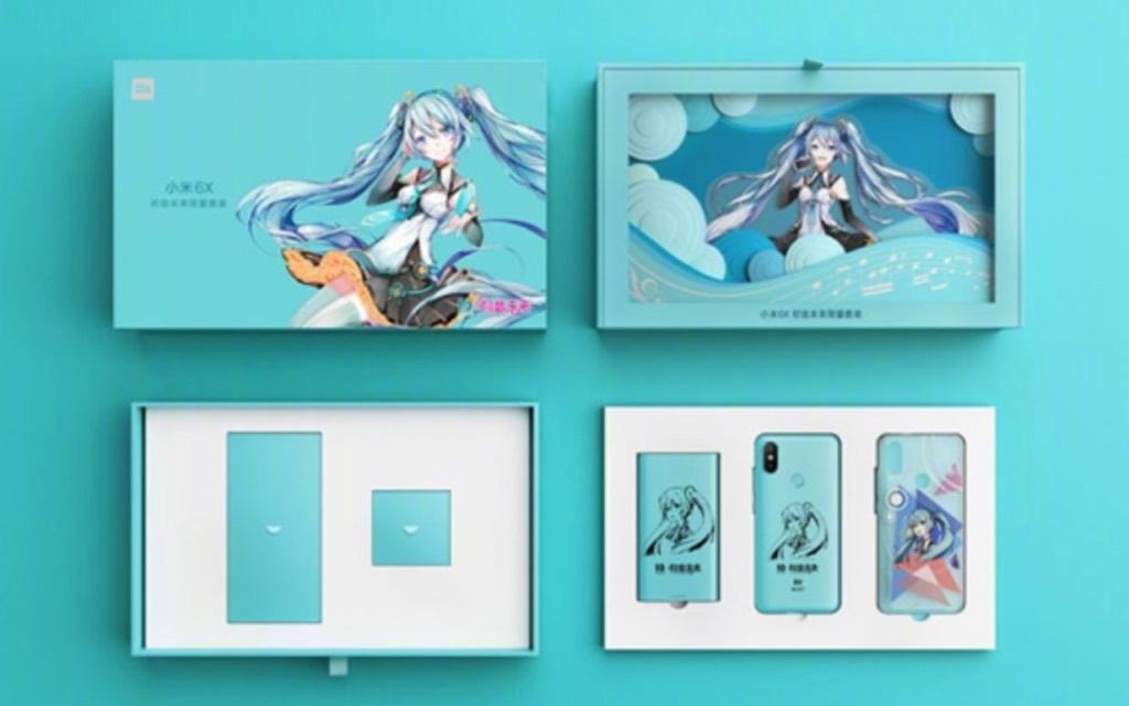 Xiaomi Mi 6X Hatsune Miku Special Edition