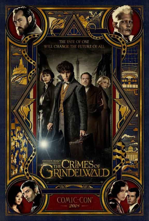 Новий постер «Фантастичні звірі: Злочини Ґріндельвальда»