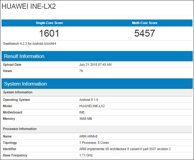 Huawei Kirin 710