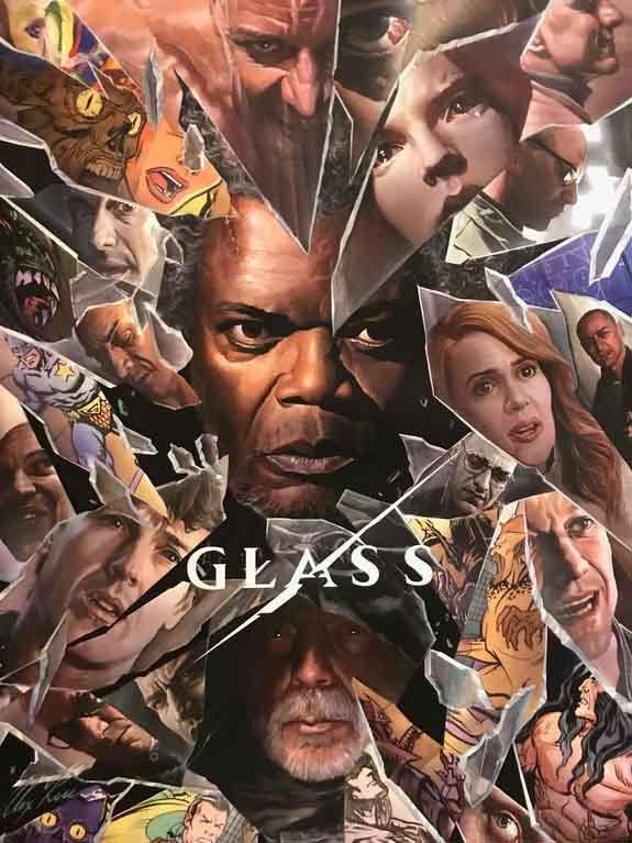 Новий постер фільму «Гласс»