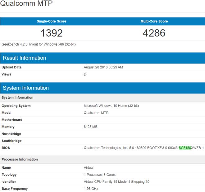 Snapdragon 8180