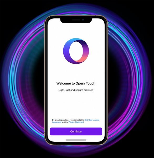 Opera Touch для iOS отримав нову функцію