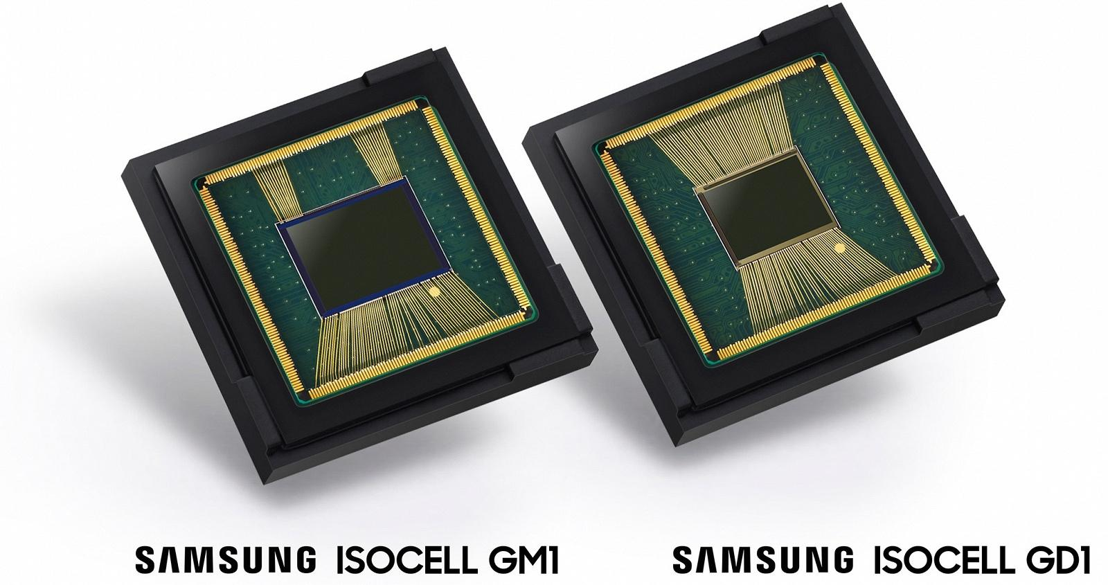 Samsung ISOCELL Bright GM1 та ISOCELL Bright GD1