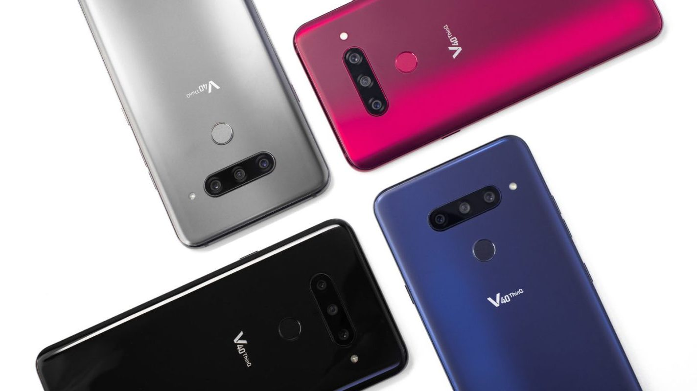 LG V40 ThinQ (LG визнана гідною нагород CES 2019 Innovation Awards)