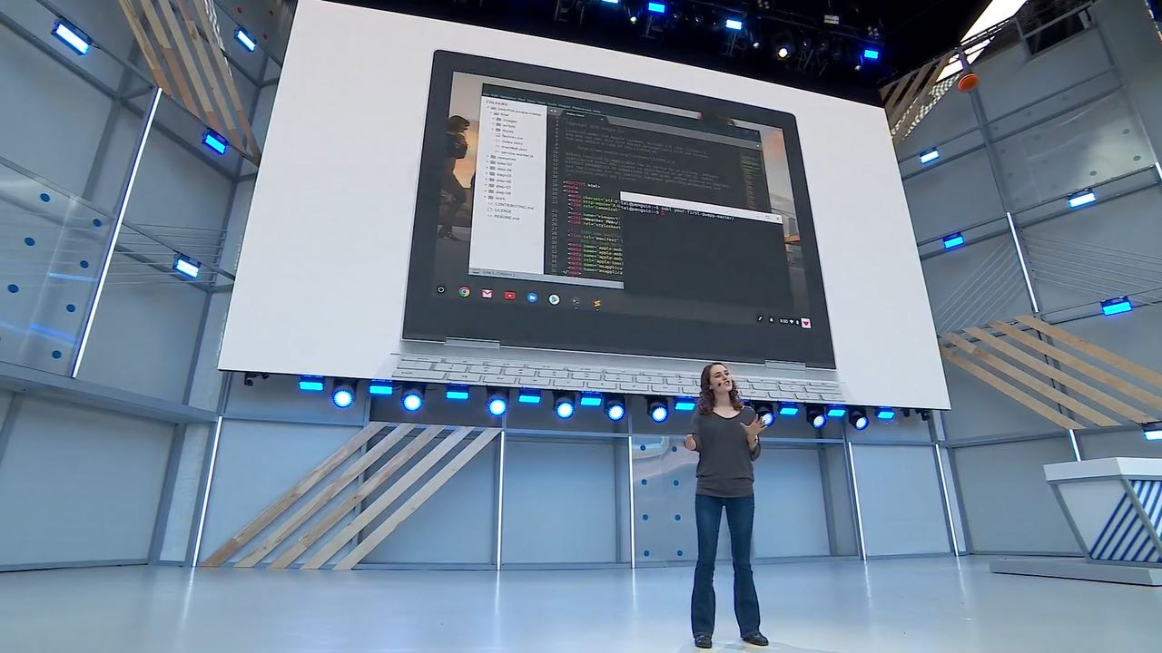 Android Studio на Chrome OS