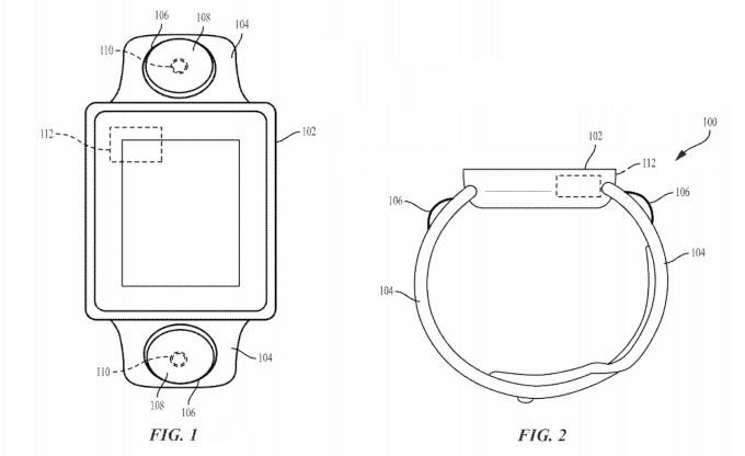 Apple запатентувала розумний годинник з двома камерами