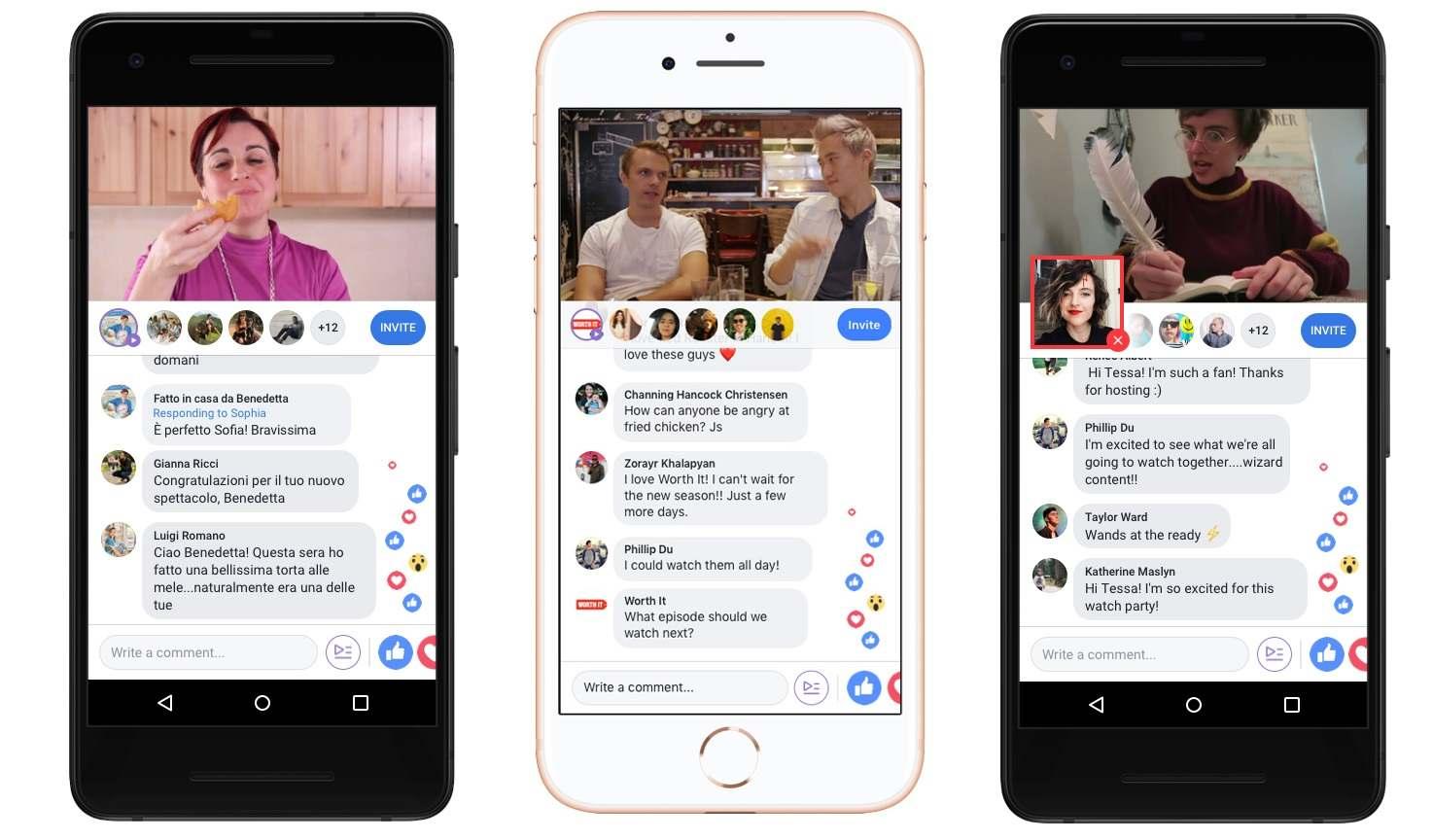 Facebook додав функцію спільного перегляду відео