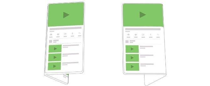 Google має намір впровадити в Android підтримку гнучких екранів