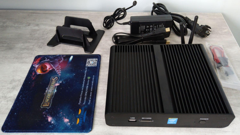 Комплектація міні-комп'ютера Partaker B16