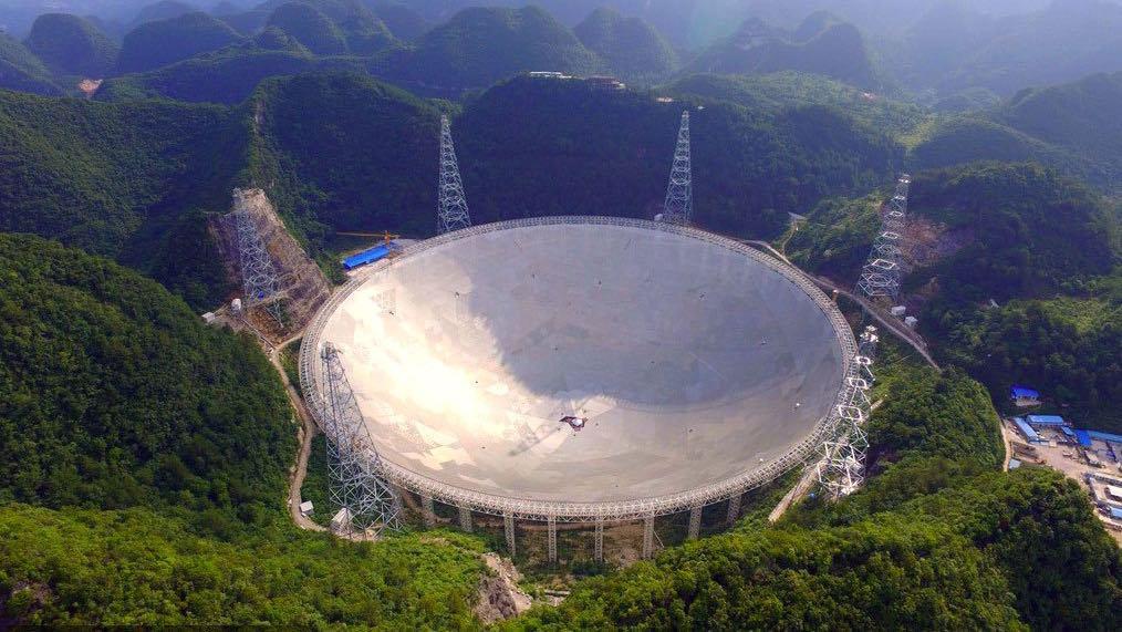 Китайський радіотелескоп