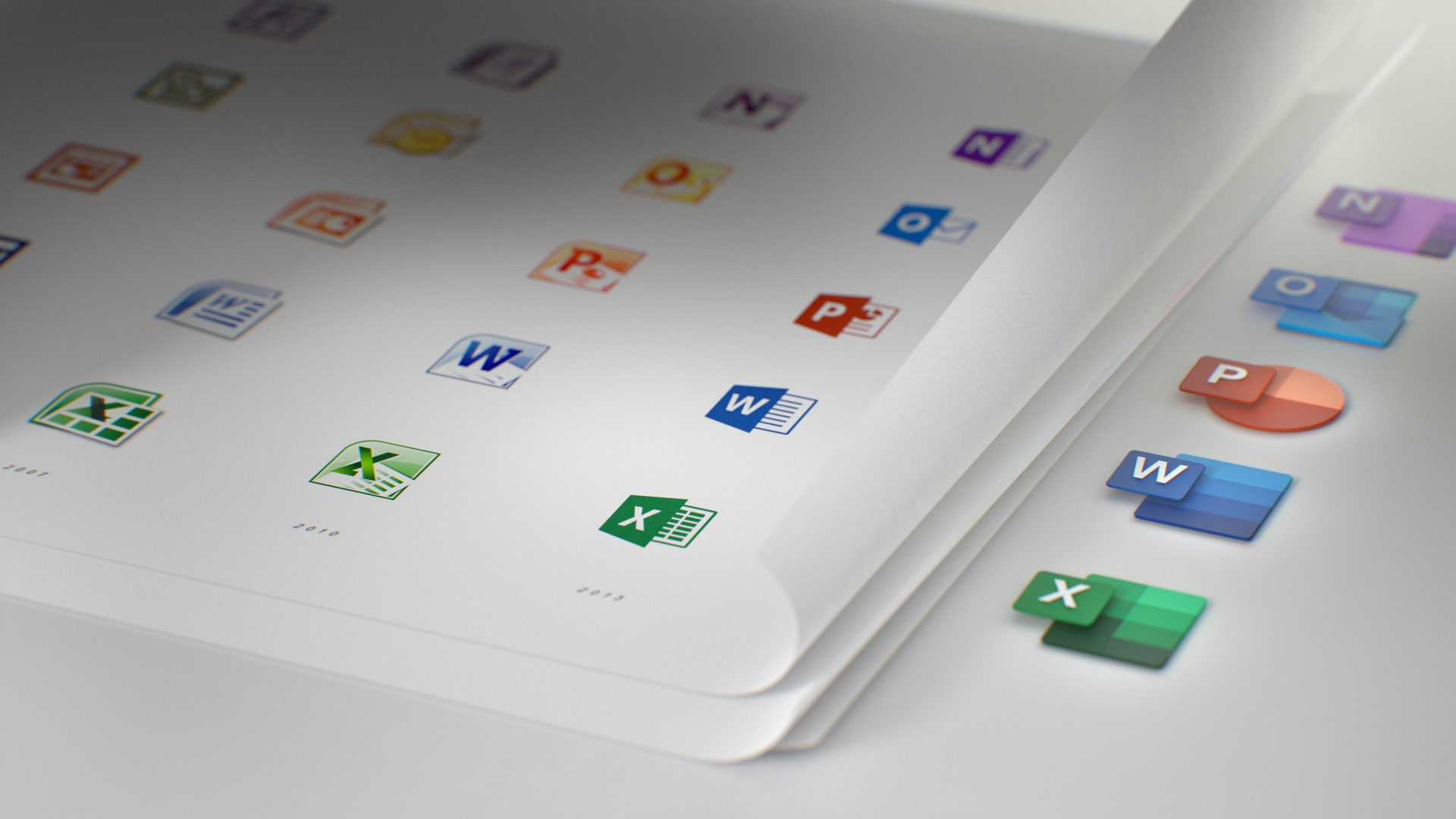 Microsoft Office 365 - Fluent Design icons