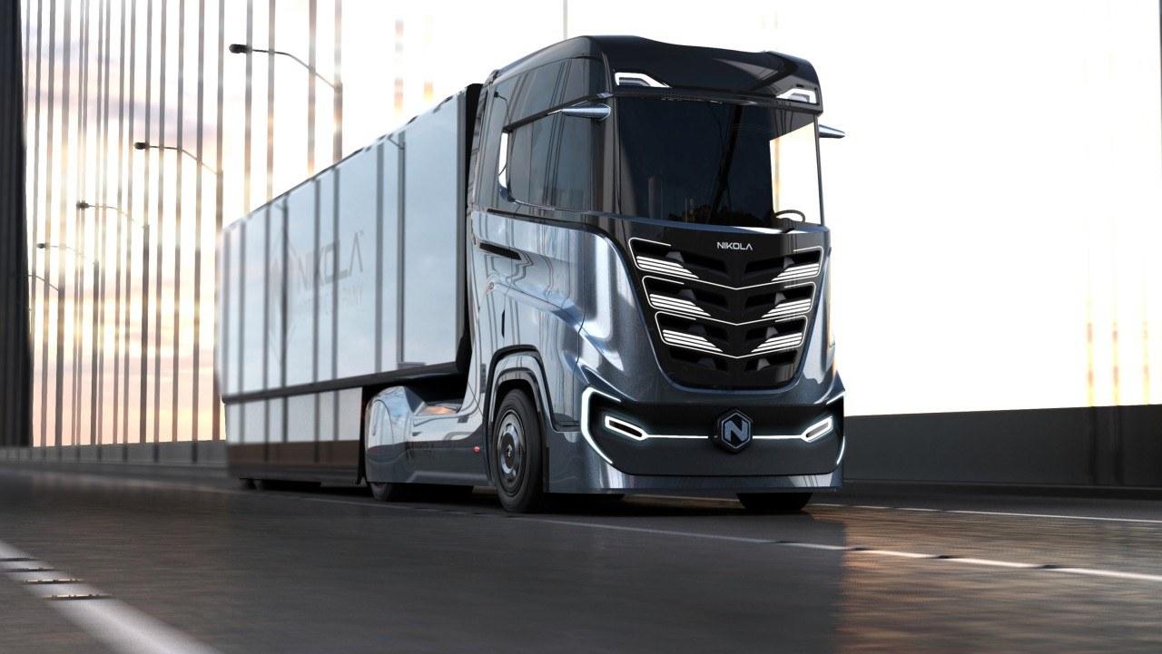Nikola Motor представила безпілотну вантажівку з кількома силовими установками