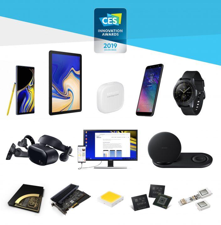 Samsung отримав 30 нагород CES 2019 Innovation Awards за видатні досягнення в сфері дизайну та розробки