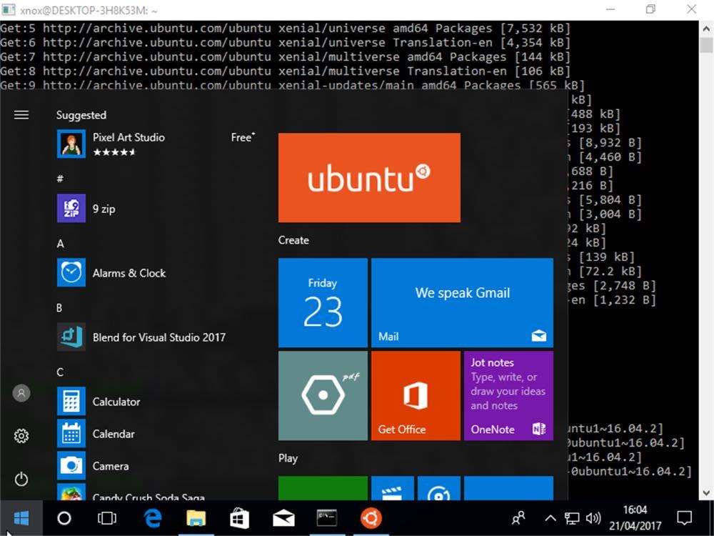 Microsoft представив нові дистрибутиви Linux дляWindows 10 (Ubuntu 18.04 LTS)
