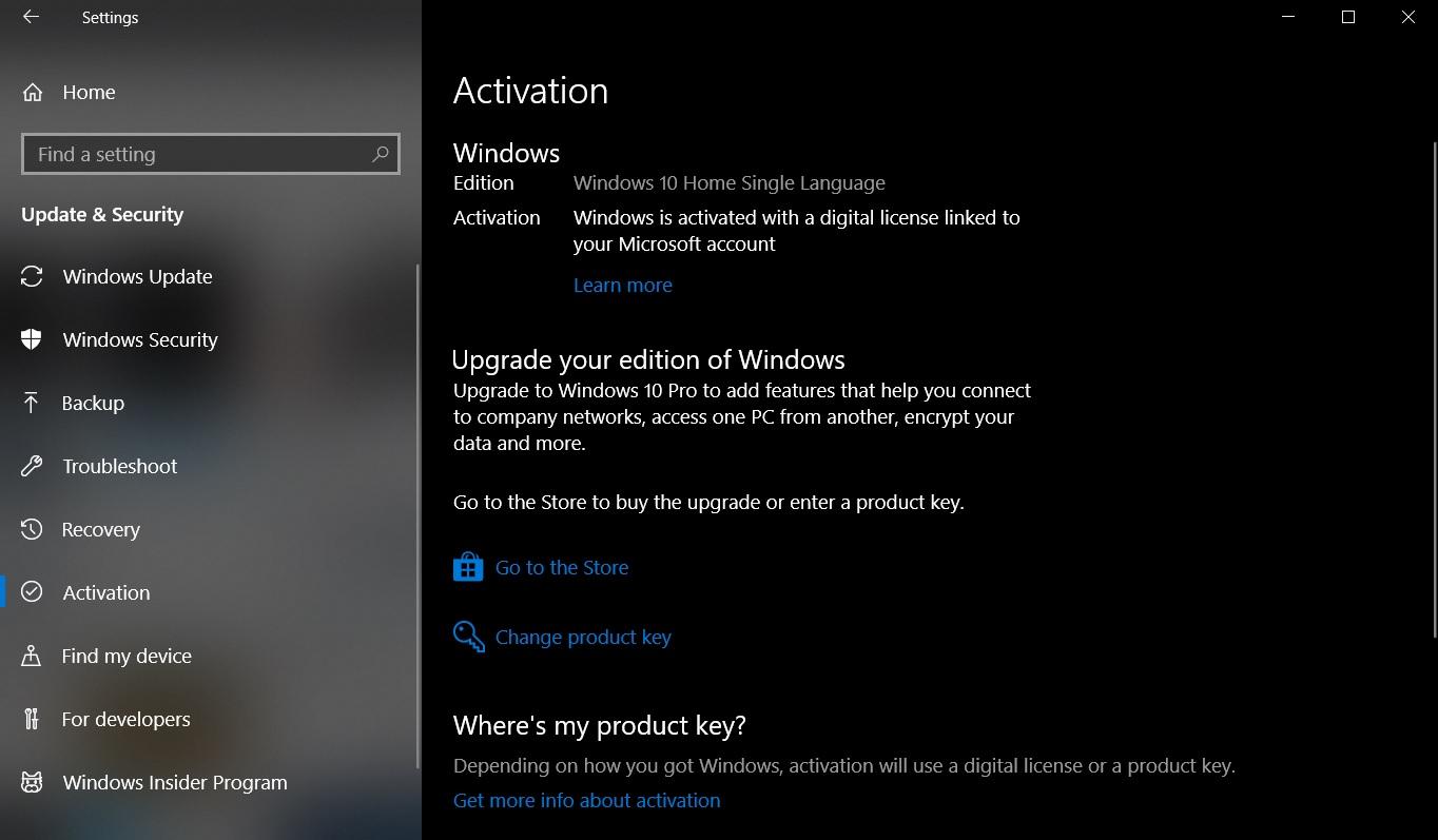 Microsoft випадково понизила Windows 10 Pro до Windows 10 Home