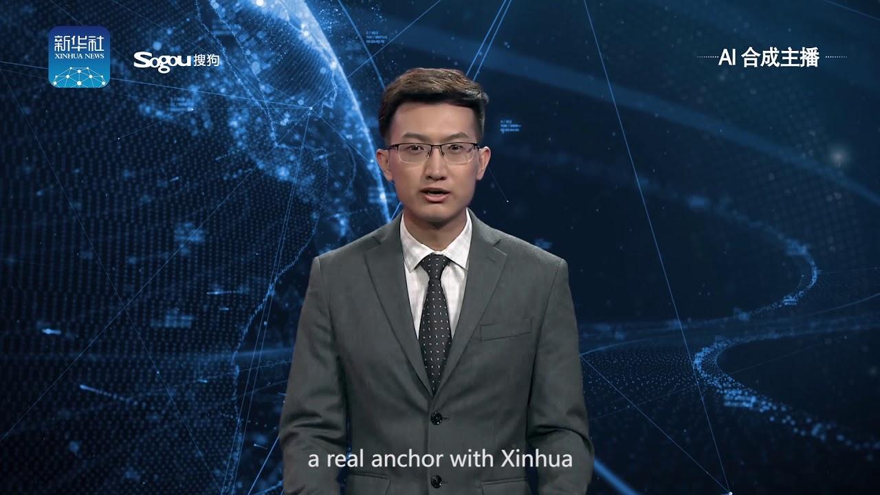 Xinhua створив цього диктора завдяки штучному інтелекту