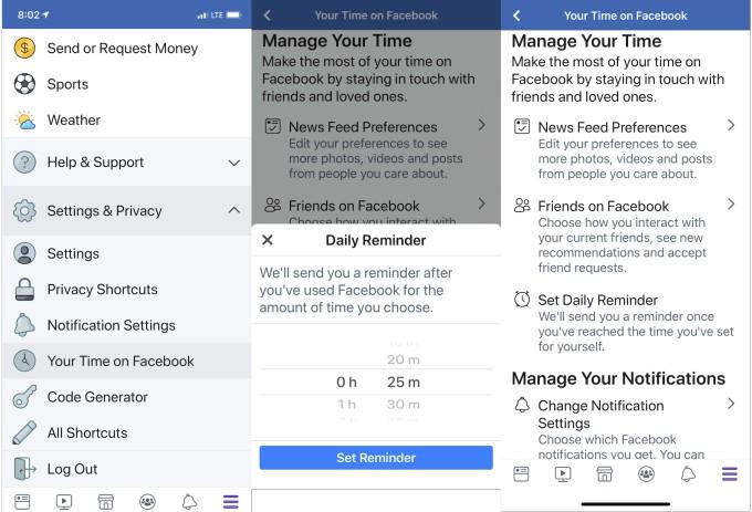 Facebook допоможе контролювати час, який ви провели онлайн