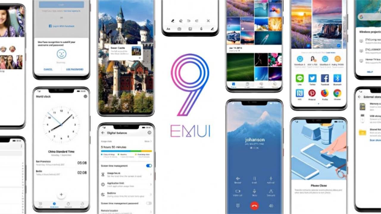 EMUI 9.0: оновлення отримають ще 10 смартфонів Huawei та Honor