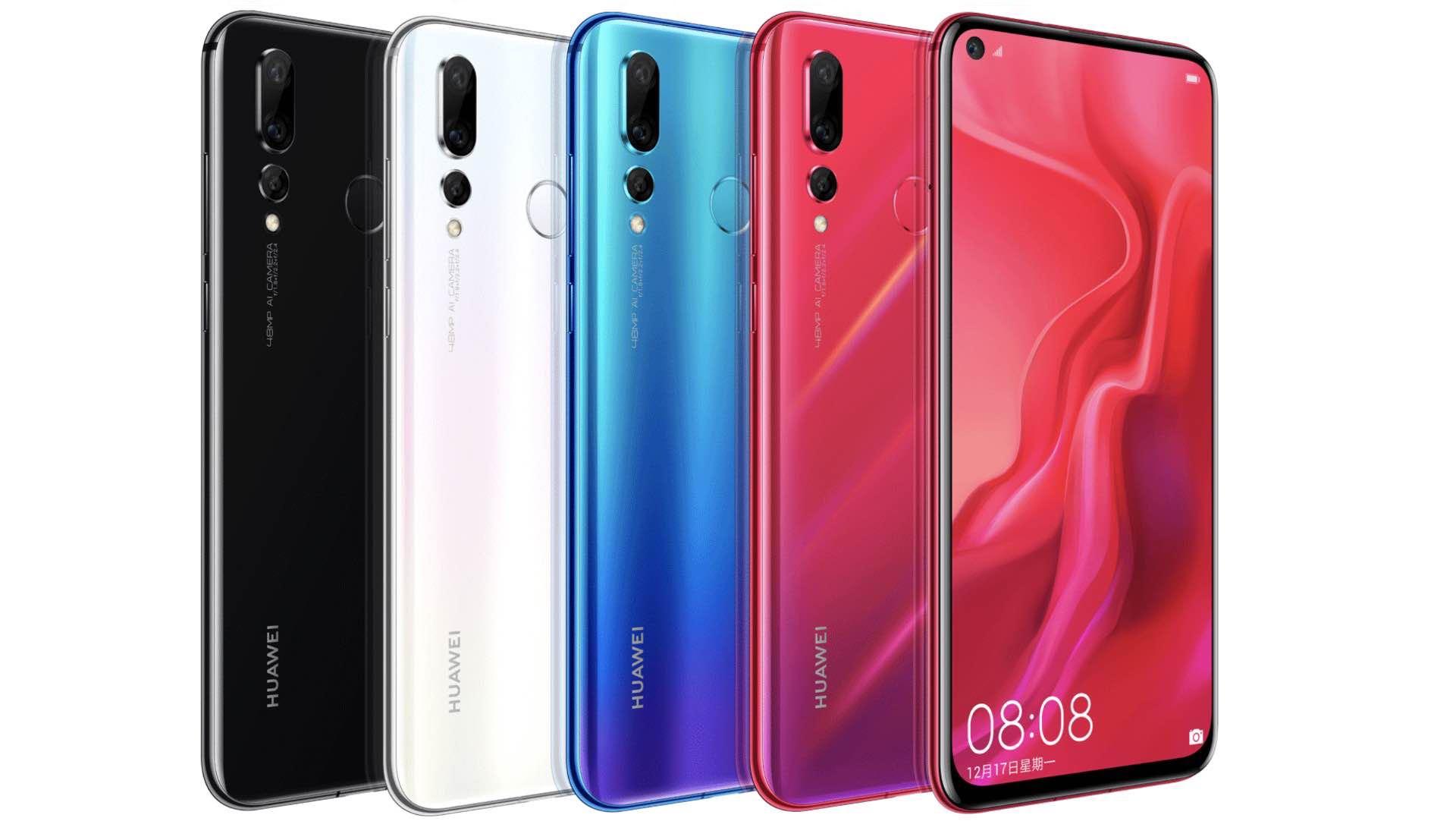 Huawei Nova 4: компанія представила смартфон із 48 Мп камерою