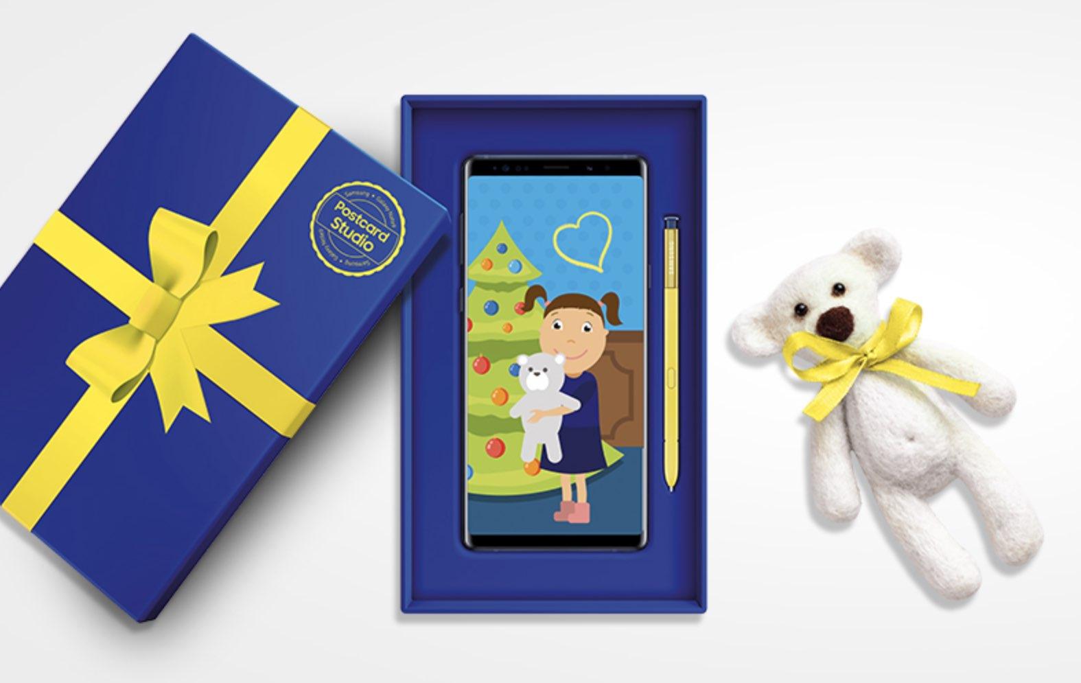 «Місяць добрих покупок» в Samsung Postcard Studio