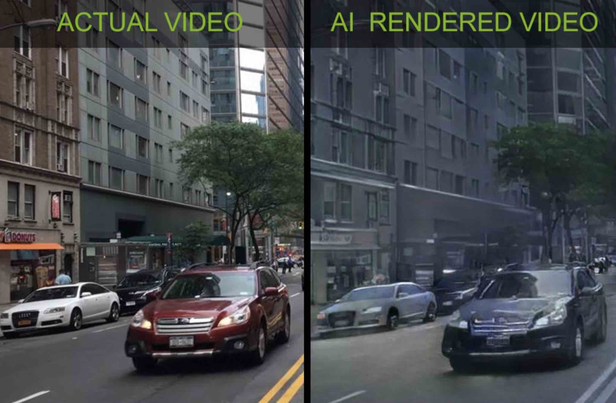 Алгоритм Nvidia створюватиме віртуальний світ завдяки штучному інтелекту