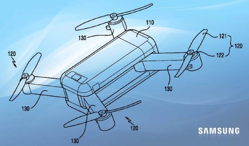 Samsung запатентував дрон-трансформер