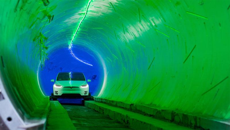 Ілон Маск відкрив швидкісний тунель під Лос-Анджелесом