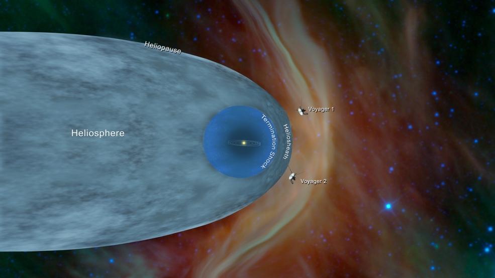 Вояджер-2 скоро перетне межу Сонячної системи