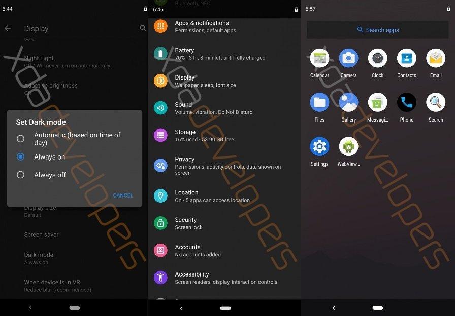 Android 10 Q: перші подробиці ОС