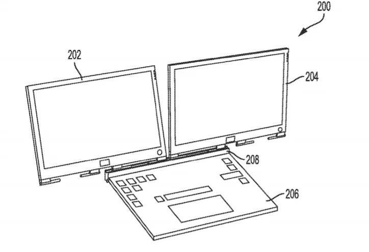 Dell запатентував ноутбук з унікальною конструкцією