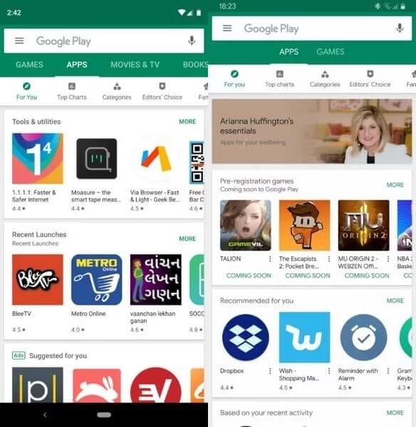 Google змінює концепцію фірмового магазину
