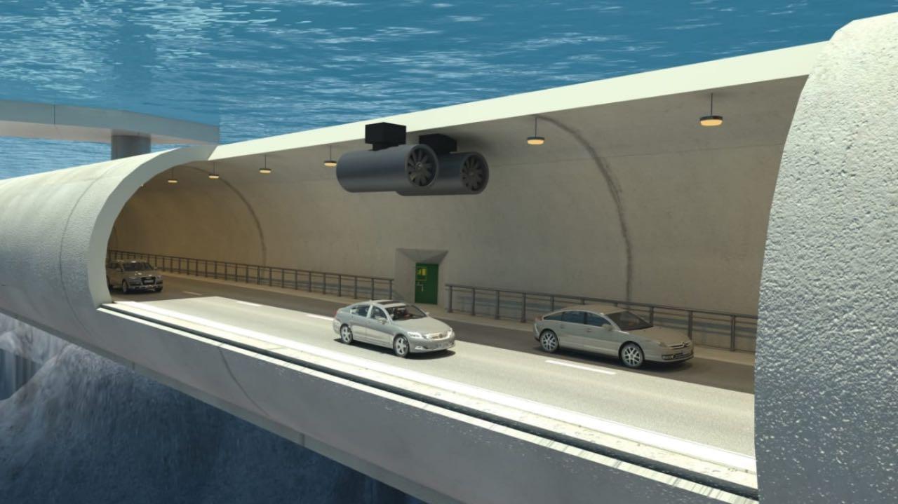 В Норвегії планують будувати підводні тунелі