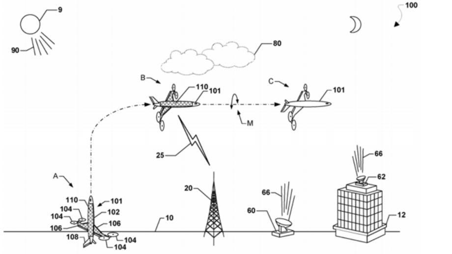 Qualcomm патентує унікальний безпілотник
