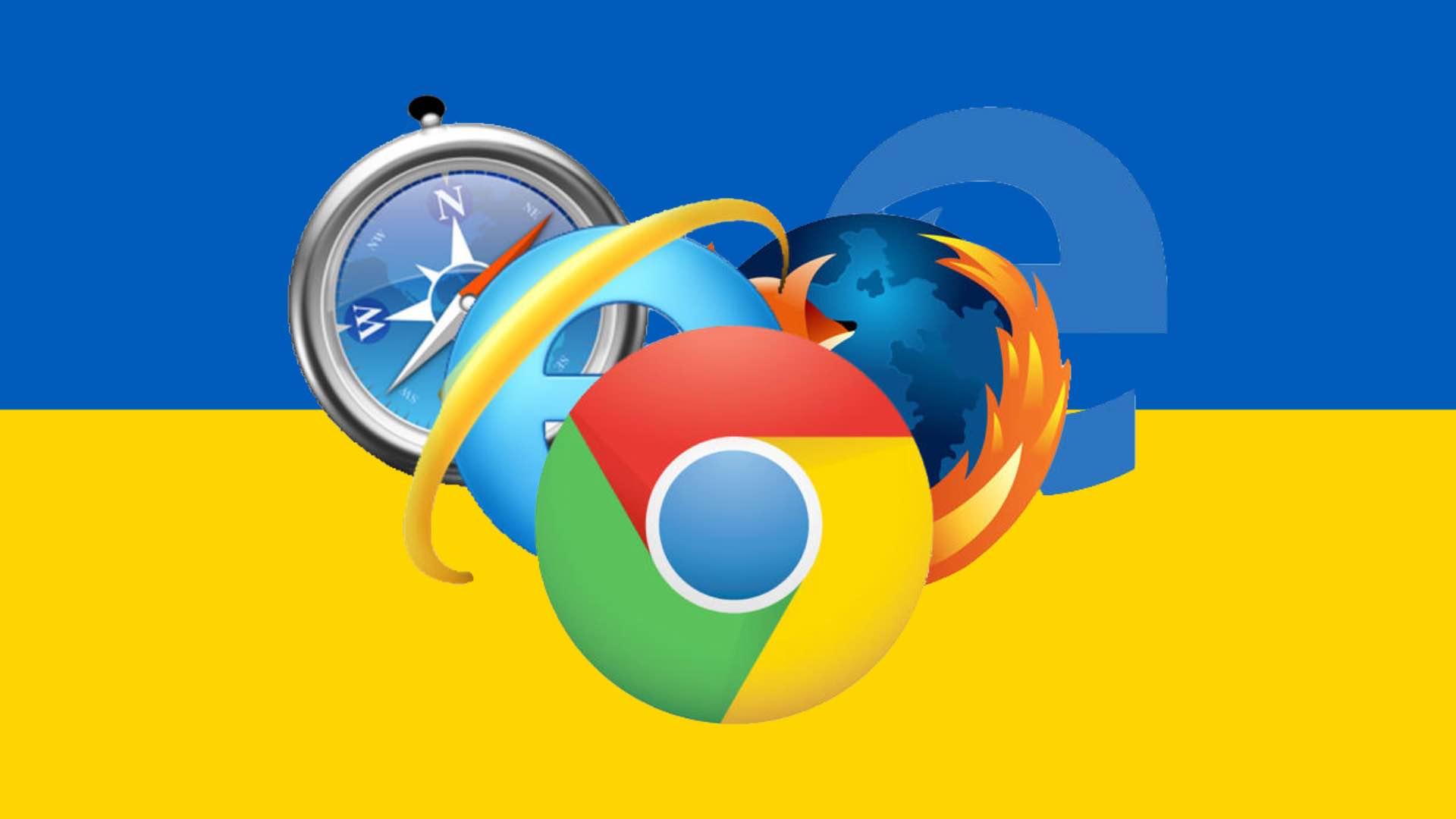 Найпопулярніші браузери