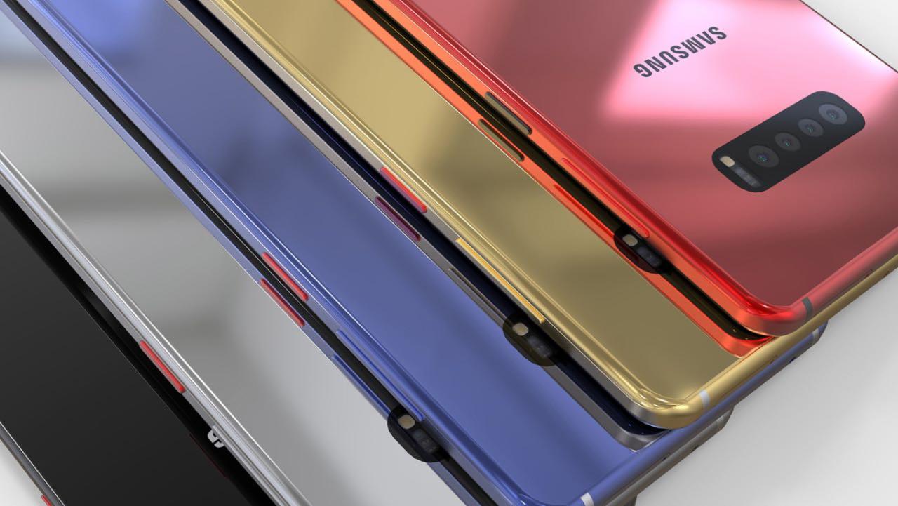 Концепт SamsungGalaxy S10 з підтримкою 5G