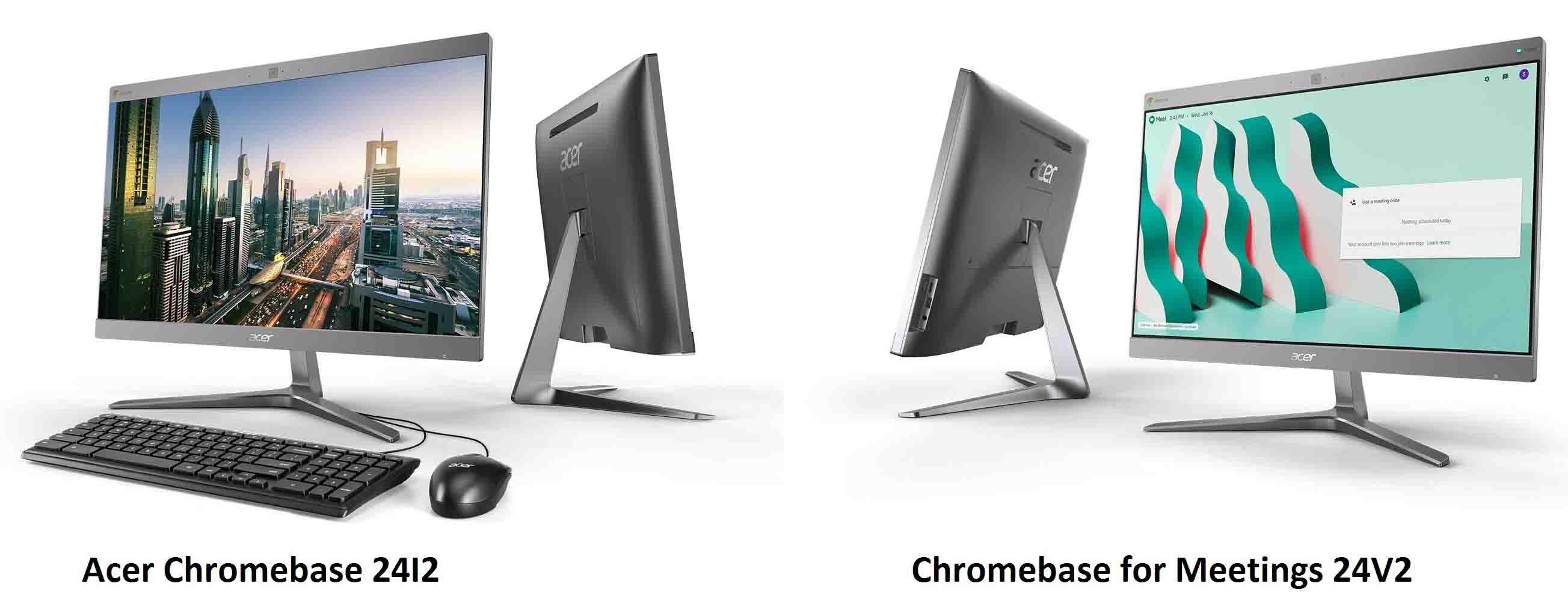 Acer представив два молоблоки на Chrome OS