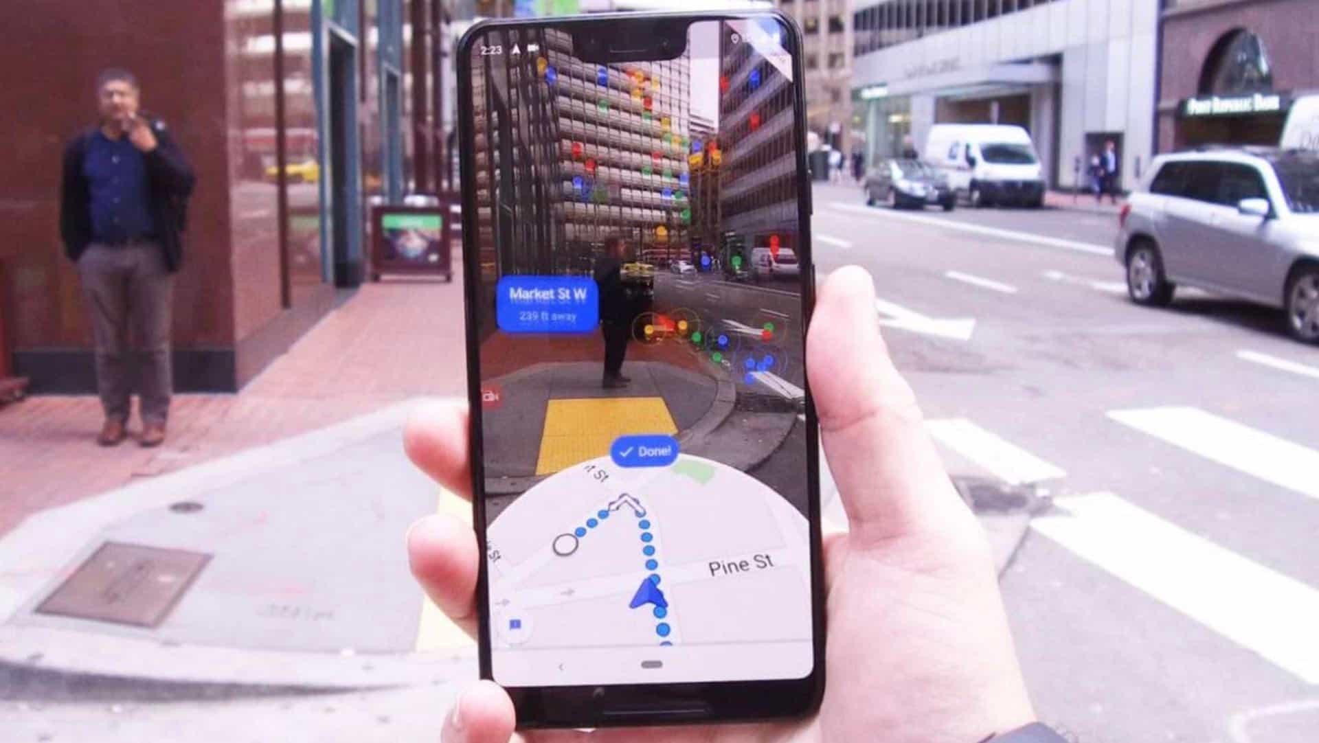 В Google Maps тестують новий режим навігації