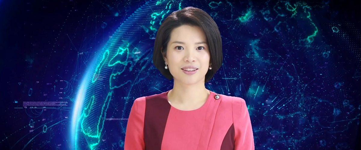 У Китаї з'явилась перша телеведуча зі штучним інтелектом