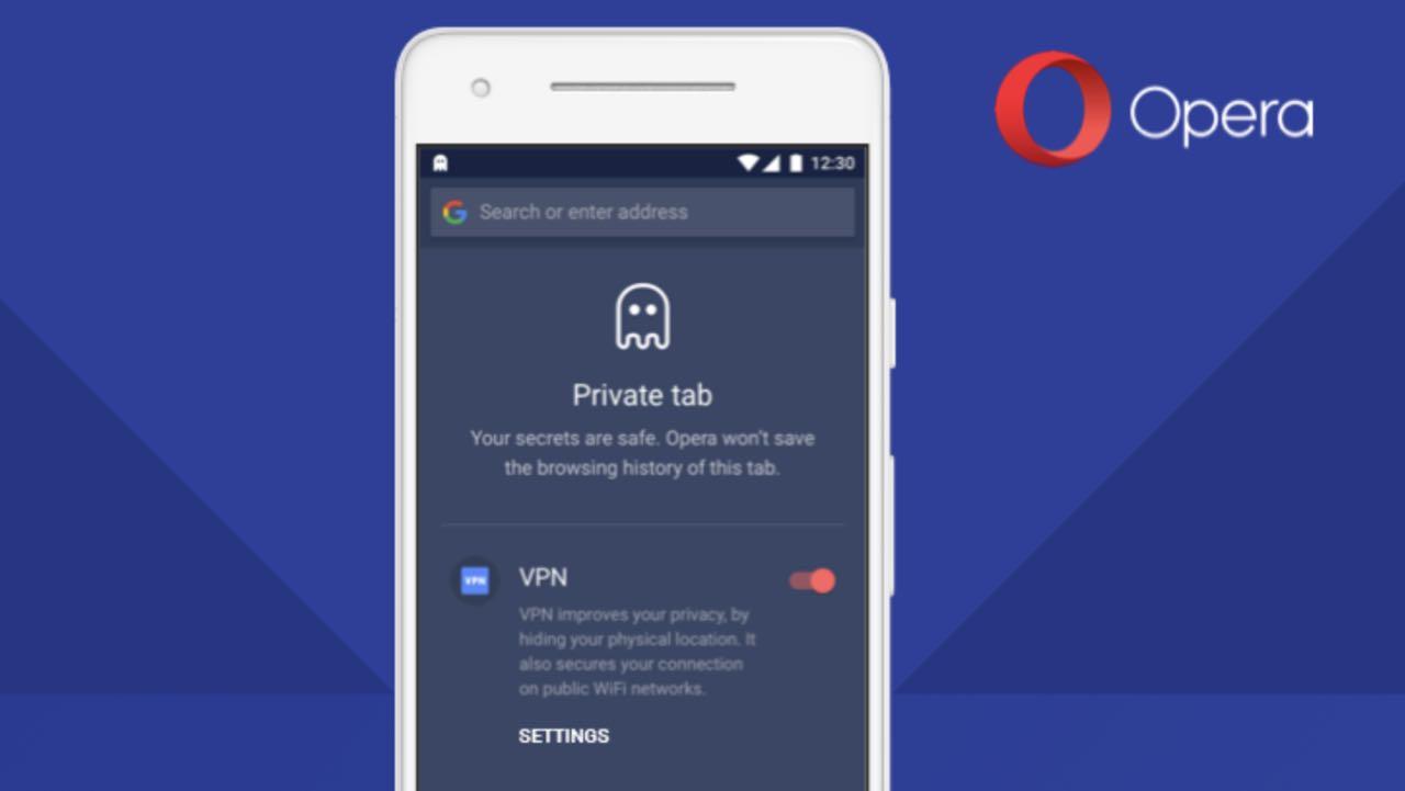 Opera для Android отримав функцію VPN