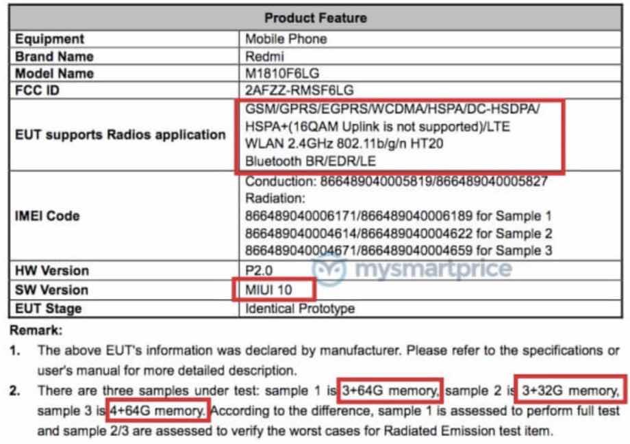 Redmi 7: відомі нові деталі про бюджетний смартфон