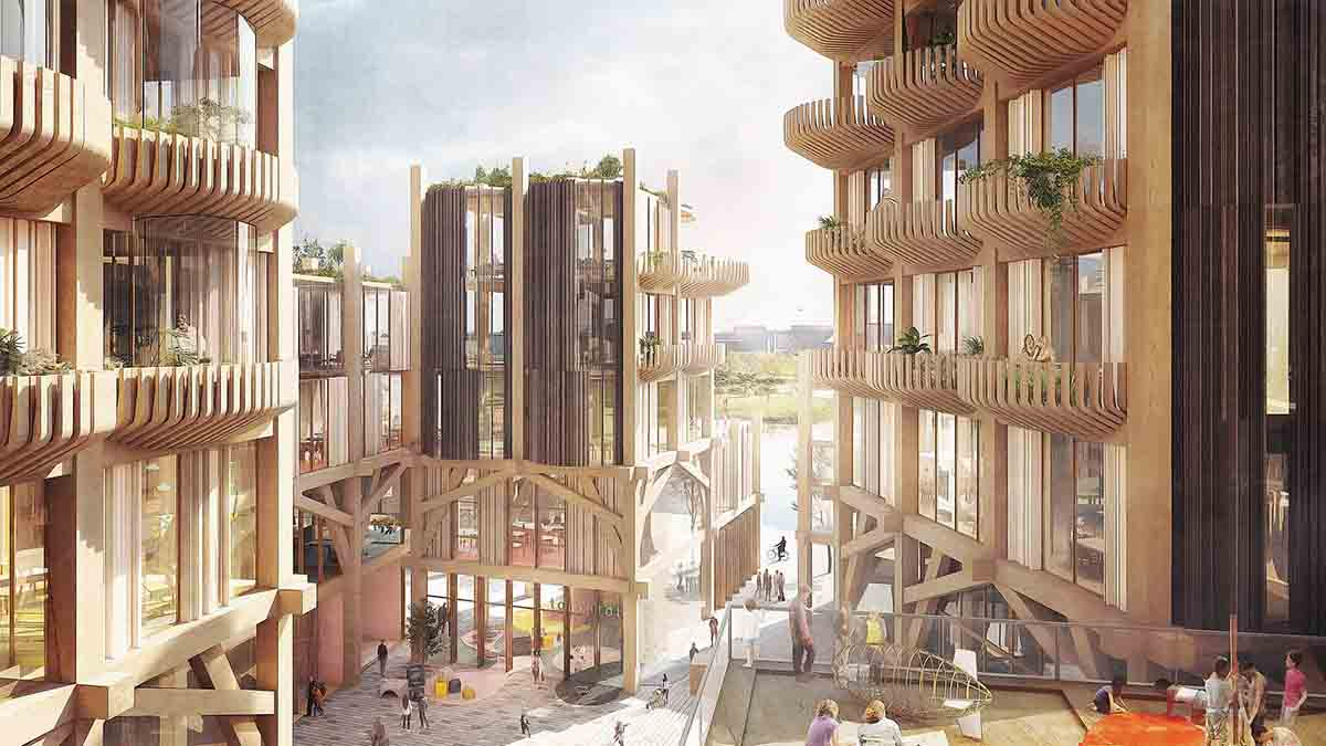 Alphabet показав проект розумного міста в Торонто