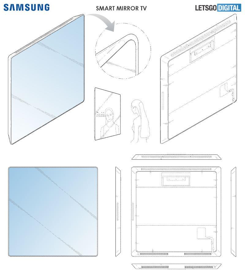 Samsung запатентував незвичайний розумний телевізор