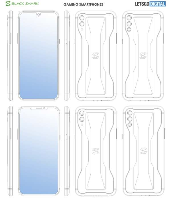 Xiaomi запатентувала одразу 8 ґеймерських смартфонів
