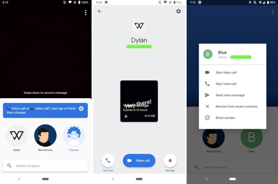 Google Duo змінив дизайн та додав функцію малювання