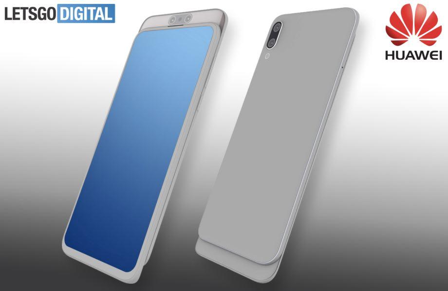 Huawei запатентував новий смартфон-слайдер