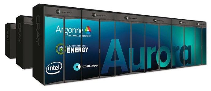 Intel і Cray будують новий ексафлопсний суперкомп'ютер