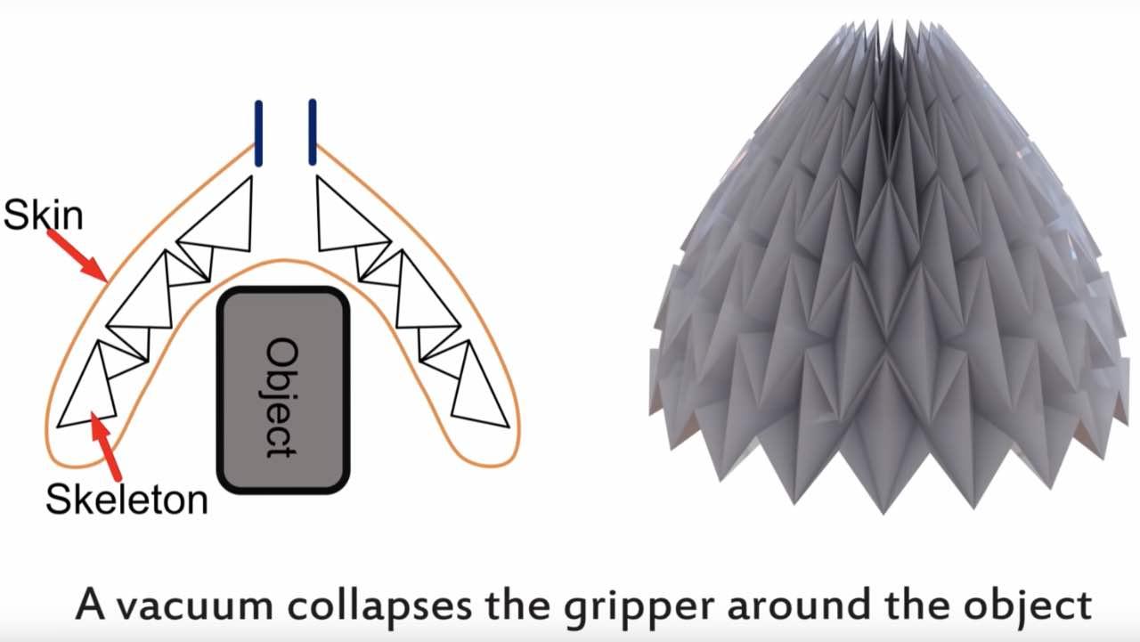 Origami Robot змінює уяву про роботів