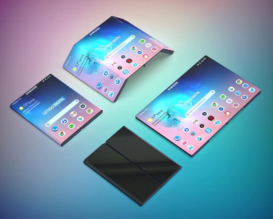 Samsung запатентував смартфон, який подібний на Xiaomi